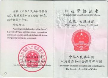 Bichun's Chinese Massage Certificate